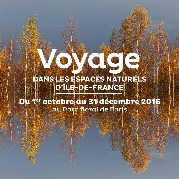 Exposition Voyage dans les espaces naturels d'Île-de-France