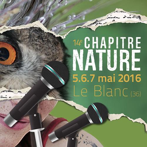 Conférences Chapitre Nature 2016
